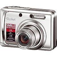 Rollei Compactline 90 Digitalkamera (9 Megapixel, 3-fach opt. Zoom, 6,4 cm (2,5 Zoll) Display) silber