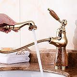 ETERNAL QUALITY Badezimmer Waschbecken Wasserhahn Messing Hahn Waschraum Mischer Mischbatterie...