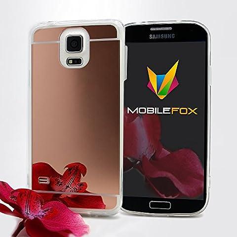 Mobilefox Schneewittchen Schutzhülle Spiegel TPU Case Samsung Galaxy S5 Rose