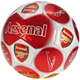 Arsenal Official Signature Football - Multi-Colour