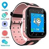 Montre Connectée Enfant IP67 Etanche - AGPS +LBS Tracker écran Tactile Smartwatch Phone Con...