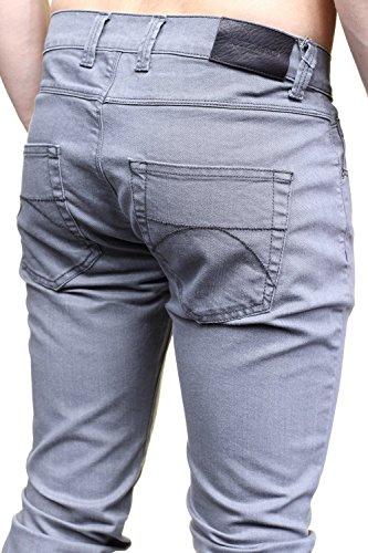 Azzaro - Jeans Ljp01-b56s004 79 Gris Perle Gris
