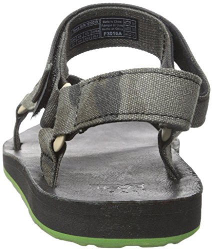Teva Original Universal Brushed Canvas Sandals Black