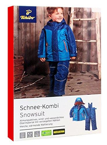 TCM Tchibo Jungen Schnee-Kombi Schnee-Anzug mit Reflektoren