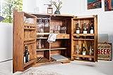 Casa Padrino Bar Wein Schrank 90 x 50 x H100 cm - Whiskey Schrankbar Antik Stil - Jugendstil Whiskeyschrank Weinschrank Barschrank