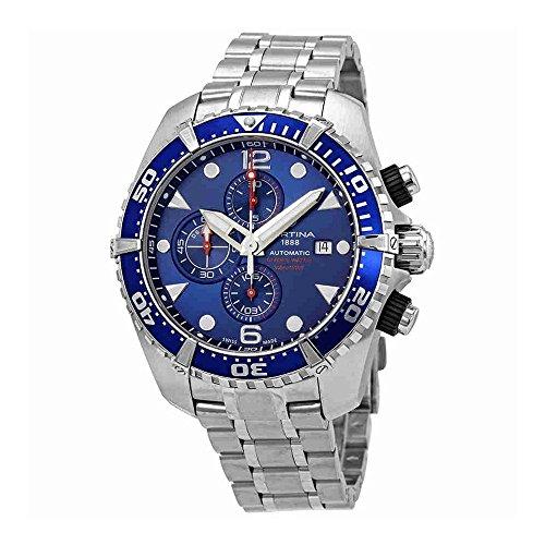 Certina Men's DS Action 45.7mm Steel Case Automatic Watch C032.427.11.041.00
