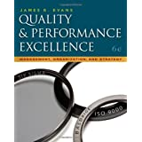 Quality & Performance Excellence by James R. Evans (2010-03-04)