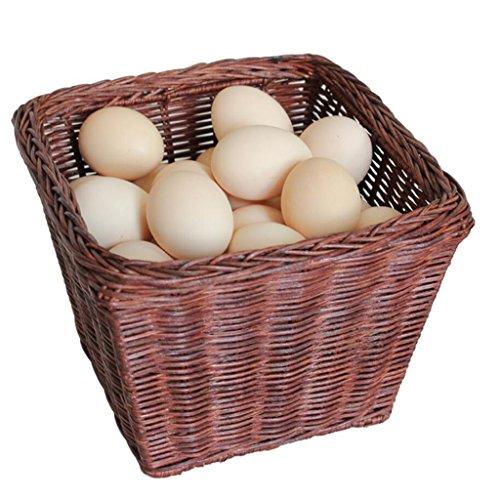Boîte de rangement Xuan - Worth Having Système de rotin Marron Accept The Basket Caniculeaux Panier d'oeufs Fabrication Artisanale Plante Naturelle Vine