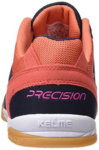 Kelme Unisex-Erwachsene Precision Fußballschuhe Rot (Marineblau / Koralle)