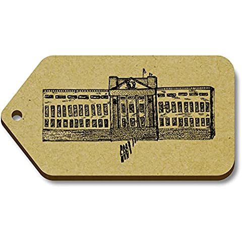 10 x 'Buckingham Palace' 66mm x 34mm Gift / Luggage Tags (TG00007643)