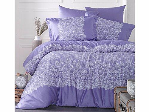 Bettwaren, -wäsche & Matratzen Kompetent 3 Teilig Renforcé Uni Bettgarnitur Bettwäsche 200x200cm 100% Baumwolle Apfelgrün Bettwäsche