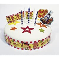 Disney Junior Amscan Jake Cake Decorating Kit