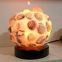 Salt lampada crystal soggiorno camera da letto comodino lampada lampada