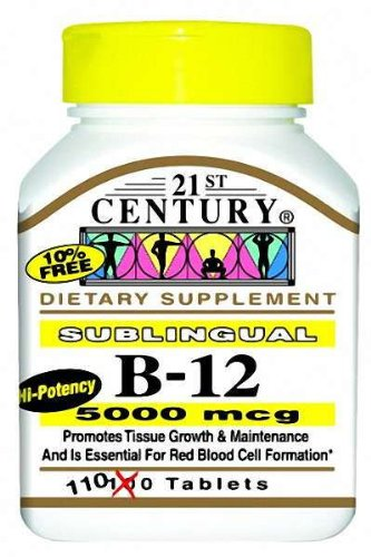 21st-century-health-care-sublingual-b-12-5000mcg-x110tabs-cyanocobalamin-vitamin-b12