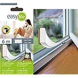 i-profile–Junta de goma adhesiva para aislamiento térmico de puertas y ventanas, blanco