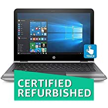 (CERTIFIED REFURBISHED) HP Pavilion 13-U004TU 13.3-inch Laptop (Core I3-6100U/4GB/1TB/Windows 10 Home/Integrated Graphics), Natural Silver