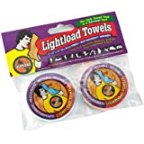 Lightload Towels-The Only Towels That Are Life Savers!(Two Pack each 30x30cm)