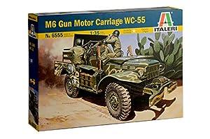 Italeri 6555S 6555S-1:35 M6 Dodge - Maqueta de Tanque antivaho, construcción de maquetas, construcción de Modelos, Manualidades, aficiones, Pegamento, Kit de Montaje de plástico, sin Pintar