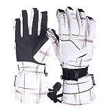 Women Anti-Fog UV 400 Protect Snow Goggles Plus Waterproof Snow Ski Gloves