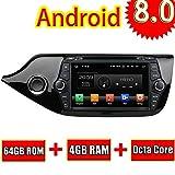ROADYAKO Android 8,0 Auto Medai Für Kia CEED 2014 2015 2016 2017 Autoradio Stereo 8 Zoll Mit GPS Navigation 3G WiFi Spiegel link RDS FM AM Bluetooth
