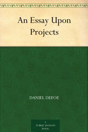 an-essay-upon-projects-english-edition