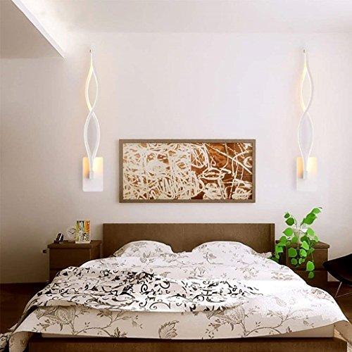 AEXU Grazioso Lampada da comodino a LED da comodino Camera da letto ...