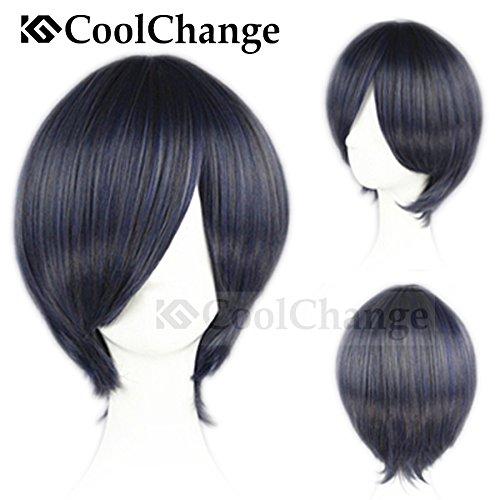 Preisvergleich Produktbild CoolChange Black Butler Perücke von Ciel Phantomhive, Grau
