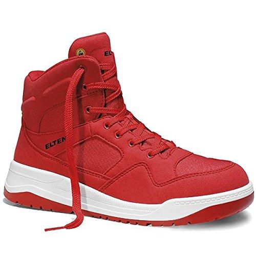 Elten Maverick Red Chaussures de sécurité S3 Rouge - Rouge