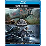 Jurassic World 2 Movies Collection - Jurassic World: Fallen Kingdom + Jurassic World
