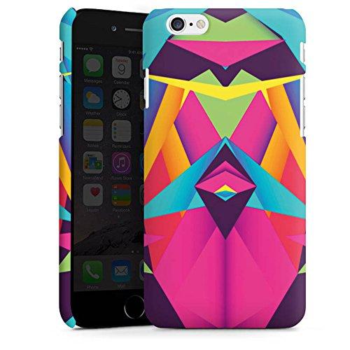 Apple iPhone X Silikon Hülle Case Schutzhülle Friendly Color Dreiecke Muster Premium Case matt