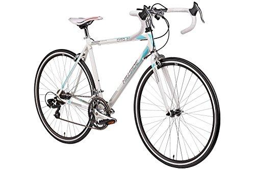 Rennrad 28 Zoll Hillside Cito 2.0 in weiß Fahrrad 700C Hillside Cito 2.0 Bike 14 Gang Shimano Schaltung 52 cm Rahmenhöhe
