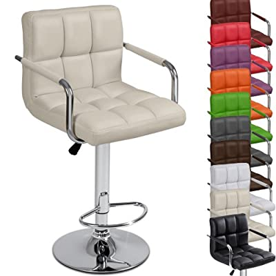 Miadomodo® LBHK03 Single Bar stool with Armrest DIFFERENT COLOURS