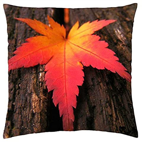 Autumn Leaf - Throw Pillow Cover Case (18
