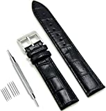 CIVO Uhrenarmband Echtes Leder Armband Top Kalbsleder 16mm 18mm 19mm 20mm 22mm 24mm Uhrband für Herren Damen