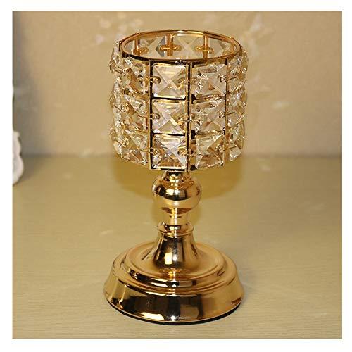 KLJJQAQ Halloween europäischen Stil Vintage-Stil Kerzenhalter - Antiquated Pillar Candleholder - Vasenhalter für Hochzeit Mittelstücke - Halloween Kerzenhalter Dekoration