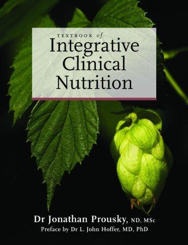 Lehrbuch of Integrative Clinical Nutrition 1st Edition by Prousky, Dr. Jonathan (2013) Gebundene Ausgabe