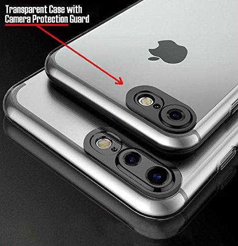 pretty nice ed5de 674a7 iPhone 6 Plus Case / iPhone 6S Plus Case- 100% Original Amozo® Product -  Camera Protection Transparent Slim Back Cover Case For Apple iPhone 6 Plus  / ...