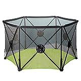 Zfggd Pop Up E Sicuro Easy Fold Box Portable Baby Play Yard, Centro di attività per Bambini Indoor E Outdoor Security Game Fence (Color : Green)