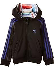 adidas chaqueta deportiva con capucha para niña Concrete Jungle multicolor Talla:116