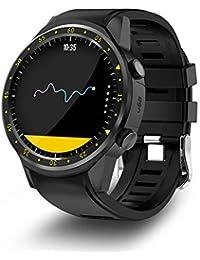 Relojes Inteligente GPS Deportivo con Doble Cámara 1.3 Pantalla Táctil Fitness Tracker Pulsómetro Monitor De Sueño Bluetooth Smartwatch…