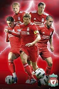 1ART1 50416 Football Liverpool Players 10 / 11 Poster 91 x 61 CM from 1art1
