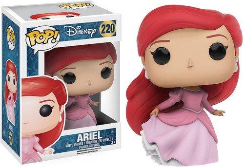 Funko 026997 POP Vinylfigur: Disney: The Little Mermaid: Ariel, Auburn,Pink, Einheitsgröße