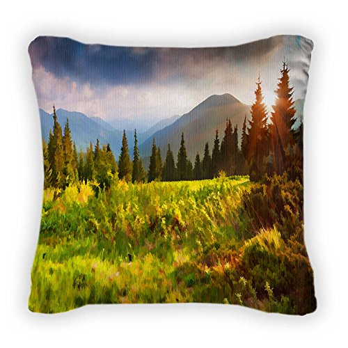 gear-new-summer-sunrise-in-the-mountains-throw-pillow