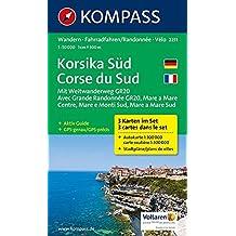 Korsika Süd - Corse du Sud - Weitwanderweg GR20: Wanderkarten-Set mit Aktiv Guide. GPS-genau. 1:50000 (KOMPASS-Wanderkarten, Band 2251)