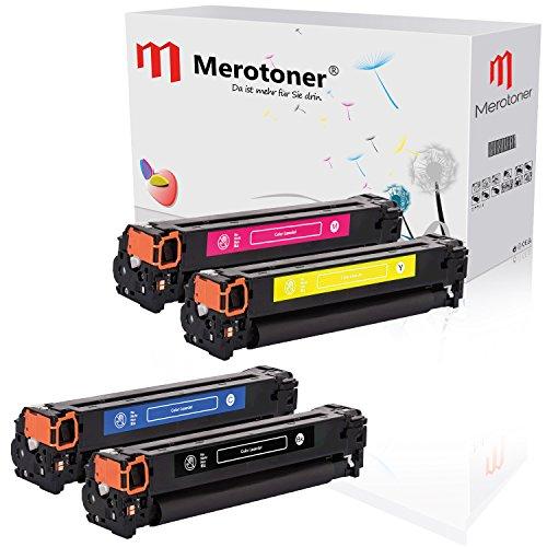 4 Merotoner Premium Toner Kompatibel zu HP CF210X CF210A - CF213A HP Laserjet Pro 200 Color MFP M251n M251nw M276n M276nw (131 Tonerkassette Hp)