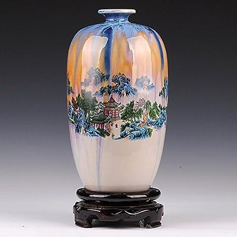 Loopsd vasellame di porcellana Caratteristiche del cambiamento di montagne e