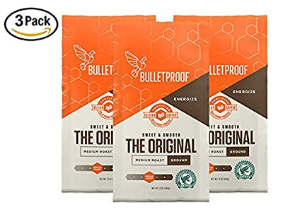 Bulletproof The Original Ground Coffee (Multi-Packs), Premium Medium Roast Organic Coffee, Keto Diet Coffee by Bulletproof Coffee