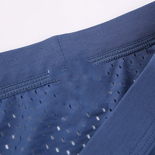 Seta Del Ghiaccio Modali Uomini Mutande Pantaloni U Convesso Della Vescica Traspirante Estate Il Sudore Biancheria Intima (pacchetto 3) 5