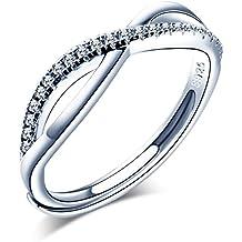 nuovo concetto 88816 0d775 Amazon.it: Anelli in argento regolabili