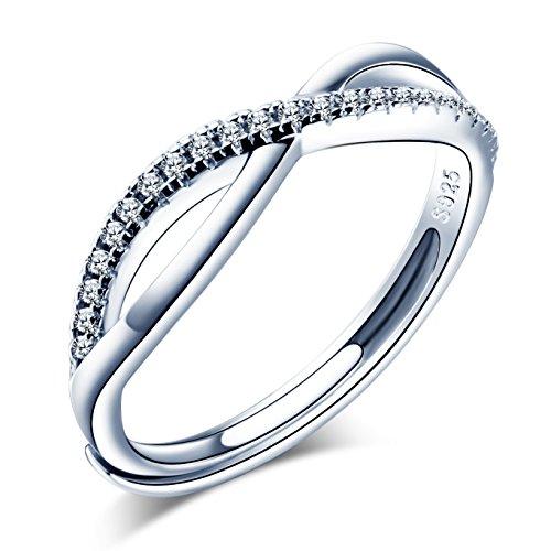 Infinite U - Anillo de compromiso para mujer